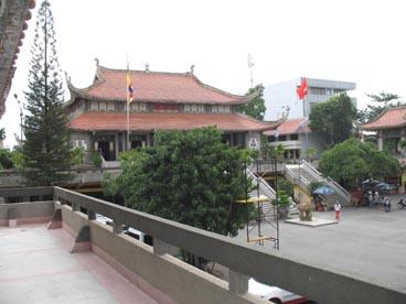 pagode Vinh Nghiem (39 rue Nam Ky Khoi Nghia, quartier 7, 3ème arrondissement, Ho Chi Minh ville)