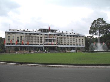palais de la réunification (133 rue Nam Ky Khoi Nghia, quartier Ben Thanh, 1er arrondissement, Ho Chi Minh ville)