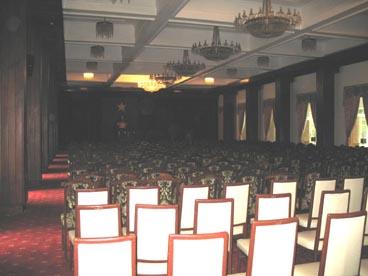 salle de conférence, palais de la réunification (133 rue Nam Ky Khoi Nghia, quartier Ben Thanh, 1er arrondissement, Ho Chi Minh ville)